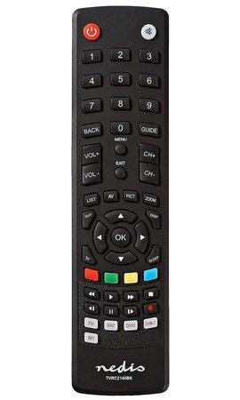Dálkový ovladač Nedis TVRC2140BK