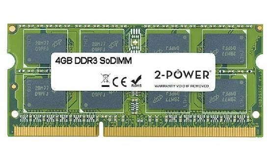2-Power 4GB PC3-10600S 1333MHz DDR3 CL9 SoDIMM 2Rx8 ( DOŽIVOTNÍ ZÁRUKA ), MEM5103A