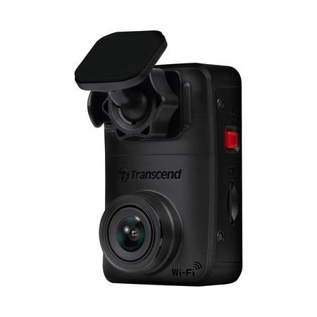 Transcend DrivePro 10 autokamera, Full HD 1080p, úhel 140°, 32GB microSDHC, Wi-Fi, micro USB, černá, samolepící držák