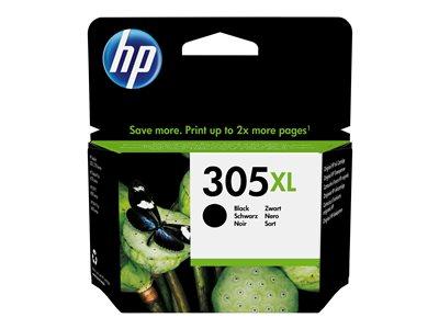 HP 305XL High Yield Black Original, HP 305XL High Yield Black Original, 3YM62AE#301