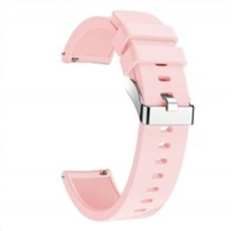 Cross Grain Strap Pink pro Xiaomi Amazfit BIP, BIP S, BIP LIte, GTS, GTR 42 mm