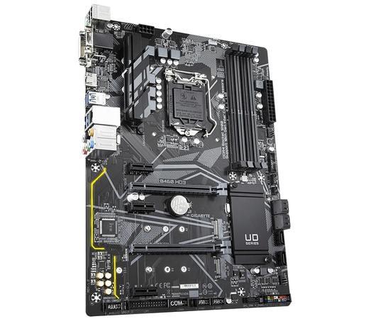 GIGABYTE MB Sc LGA1200 B460 HD3, Intel B460, 4xDDR4, VGA, B460 HD3