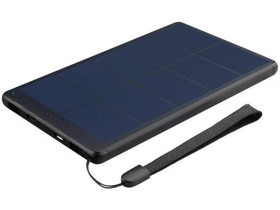 Sandberg Urban Solar Powerbank 10000 mAh, solární nabíječka, černá