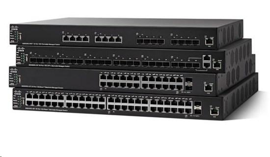 Cisco SG550X-24 24-port Gigabit Stackable Switch, SG550X-24-K9-EU