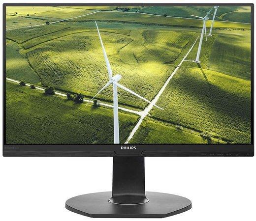 """Philips MT IPS LED 23,8"""" 241B7QGJEB - IPS panel, 1920x1080, 250cd, 5ms, D-Sub, DVI, HDMI, DP, USB 3.0, repro, pivot, 241B7QGJEB"""