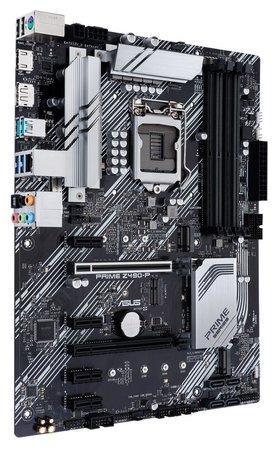 ASUS MB Sc LGA 1200 PRIME Z490-P, Intel Z490, 4xDDR4, M.2, VGA, 90MB12V0-M0EAY0
