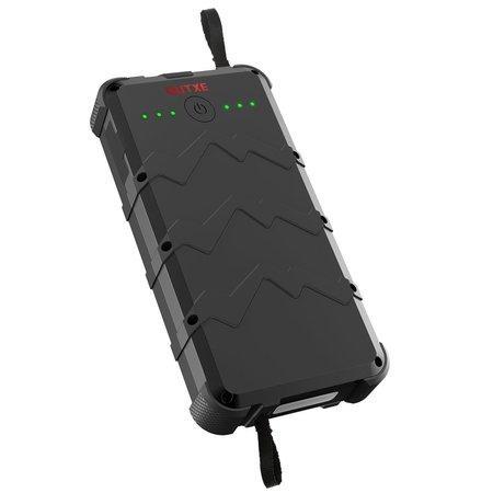 OUTXE Savage Rugged IP67 odolná powerbanka s USB-C Quick Charge, 20000mAh černá