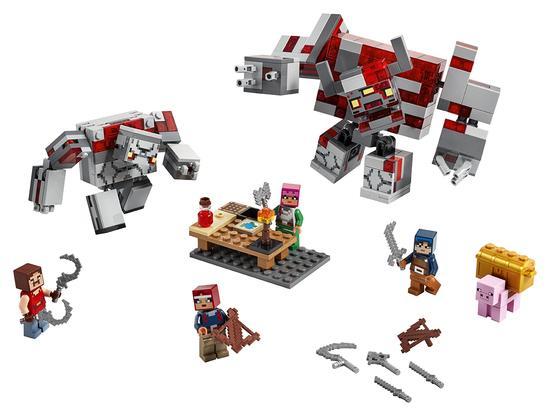 Lego Lego Minecraft Bitva o rudit