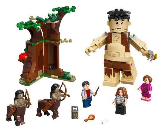 Lego Harry Potter Zapovězený les: Setkání Drápa a profesorky