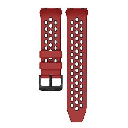 Řemínek Huawei silikonový pro Huawei Watch GT 2e - červený