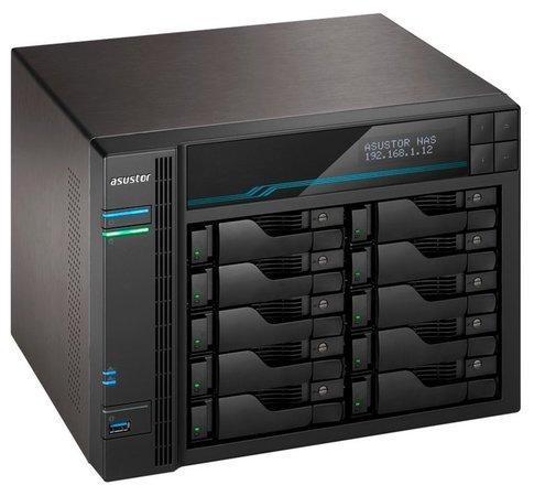 """Asustor NAS AS7110T / 10x 2.5""""/3.5"""" SATA III/ Intel Xeon E-2224 3.5GHz/ 8 GB/ 1x 10GbE + 3x 2,5GbE/"""