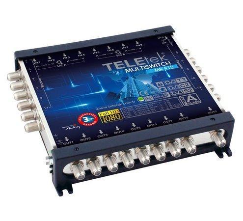 TeleTek satelitní multipřepínač 9/12 kaskádový
