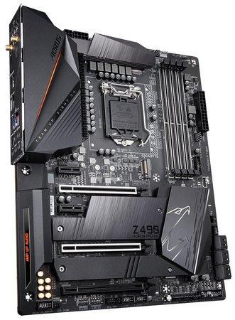 GIGABYTE MB Sc LGA1200 Z490 AORUS PRO AX, Intel Z490, 4xDDR4, VGA, WI-FI, Z490 AORUS PRO AX