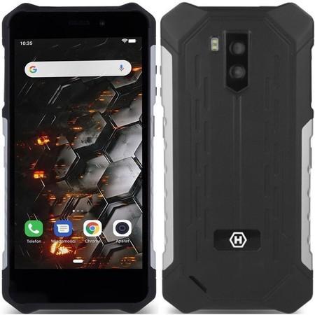 Mobilní telefon myPhone Hammer Iron 3 LTE - černý/stříbrný