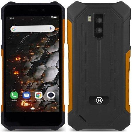 Mobilní telefon myPhone Hammer Iron 3 LTE - černý/oranžový