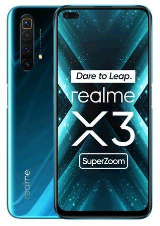 Realme X3 SuperZoom DualSIM 12+256GB gsm tel. Glacier Blue