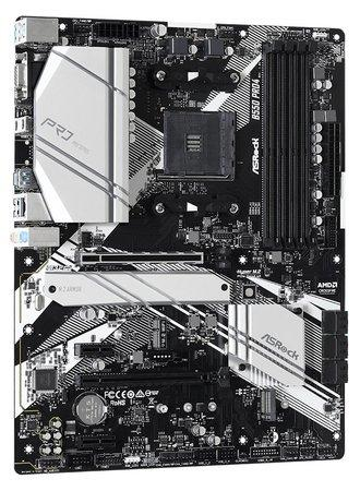 ASROCK MB B550 PRO4 (AM4, amd B550, 4xDDR4 4733, 6xSATA3, 7.1, VGA+HDMI, M.2, USB3.2, ATX)