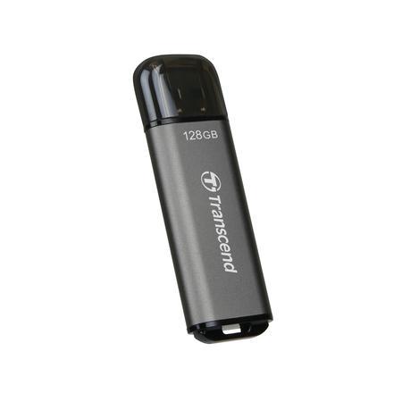 Transcend 128GB JetFlash 920, USB 3.0 (3.2 Gen 1) flash disk, 420MB/s R, 400MB/s W, vesmírně šedá, TS128GJF920