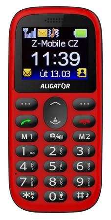 Aligator A510 Senior Red/Black