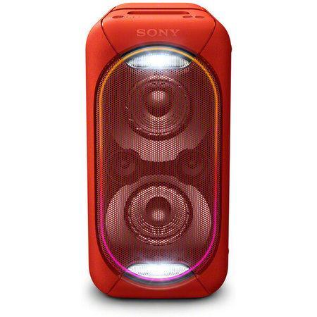 SONY GTK-XB60R Domácí audiosystém s vysokým výkonem Red