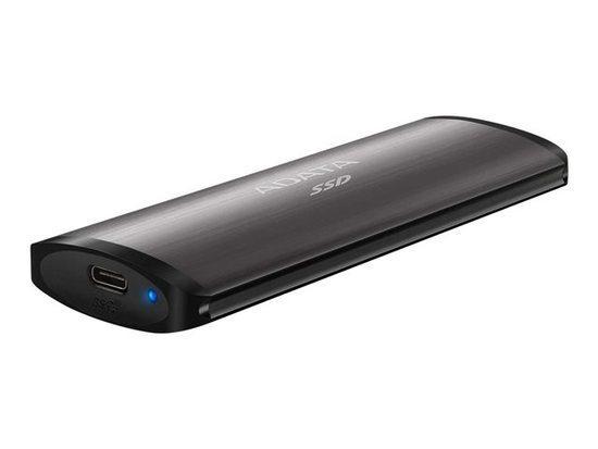 ADATA external SSD SE760 256GB black, ASE760-256GU32G2-CBK