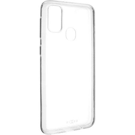 FIXED Skin ultratenké TPU pouzdro 0,6 mm Samsung Galaxy M21 čiré