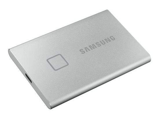 SAMSUNG T7 TOUCH SSD 500GB externí/ stříbrný