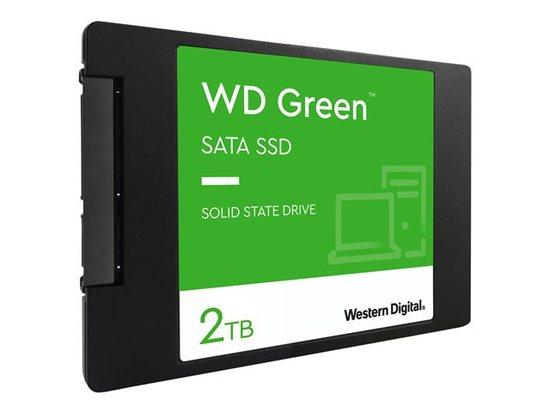 WD Green SSD 2TB 2.5inch SATA3 7mm 3D NAND