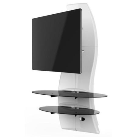 """Držák TV Meliconi Ghost Design 2000 Rotation pro úhlopříčky 32"""" až 63"""", nosnost 30 kg - bílý,"""