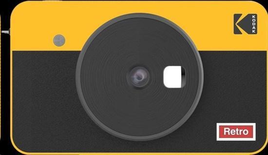 Kodak MINISHOT COMBO 2 RETRO Yellow
