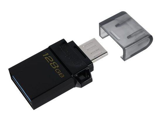 Kingston flash disk 128GB DT microDuo 3.0 G2 USB 3.2 , DTDUO3G2/128GB