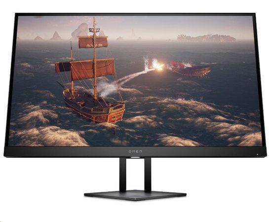 """LCD HP OMEN 27i, herní Monitor 27"""" QHD 2560x1440; IPS; 16:9; 350nitů; 165Hz, 3xUSB; HDM; DP; 3.5mm Jack, 8AC94AA#ABB"""
