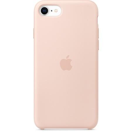 Pouzdro Apple silikonové iPhone SE 2. gen - bílé