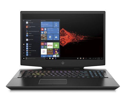 """Ntb HP Omen 17-cb1006nc i7-10750H, 16GB, 512+1000GB, 17.3"""", Full HD, bez mechaniky, nVidia GeForce RTX 2060, 6 GB, BT, CAM, W10 Home - černý"""