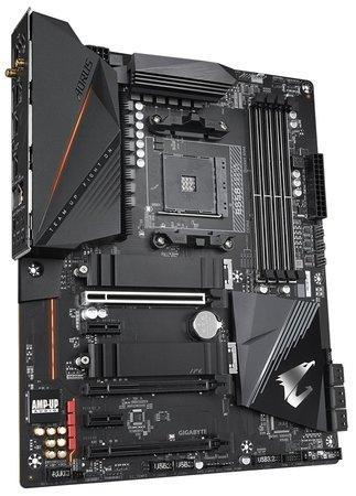 GIGABYTE MB Sc AM4 B550 AORUS PRO AC, AMD B550, 4 x DDR4, HDMI, Wi-Fi, B550 AORUS PRO AC