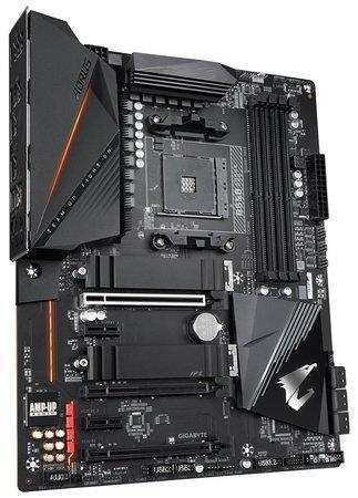 GIGABYTE MB Sc AM4 B550 AORUS PRO, AMD B550, 4 x DDR4, HDMI, B550 AORUS PRO
