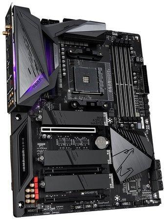 GIGABYTE B550 AORUS MASTER / AMD B550 / AM4 / 4x DDR4 DIMM / 3x M.2 / HDMI / USB Type-C / Wi-Fi / ATX, B550 AORUS MASTER