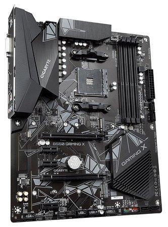 GIGABYTE MB Sc AM4 B550 GAMING X, AMD B550, 4 x DDR4, HDMI