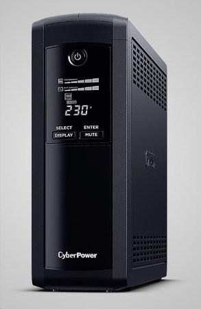 CyberPower Value PRO SERIE GreenPower UPS 1200VA/720W, DE zásuvky, VP1200ELCD-DE