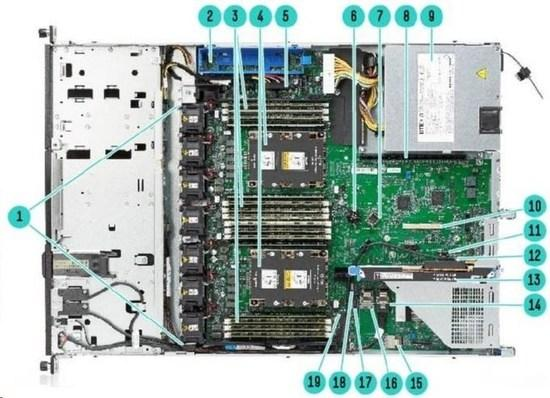 HPE DL160 Gen10 4208 1P 16G 8SFF Svr, P19560-B21