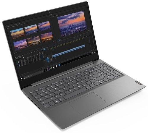 """LENOVO V15-IIL - i5-1035G1@1.0GHz,15.6"""" FHD,8GB,512SSD,noDVD,HDMI,čt.pk,cam,Intel UHD,W10P,2r carryin,šedá"""