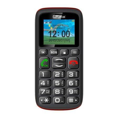 Mobilní telefon MAXCOM Comfort MM428, CZ lokalizace
