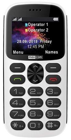 Mobilní telefon MAXCOM Comfort MM471, CZ lokalizace, bílý