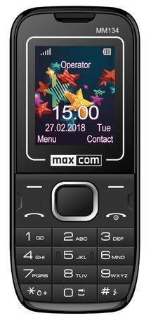 Mobilní telefon MAXCOM Classic MM134, CZ lokalizace