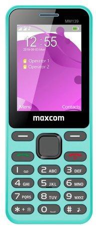 Mobilní telefon MAXCOM Classic MM139, CZ lokalizace, modrý