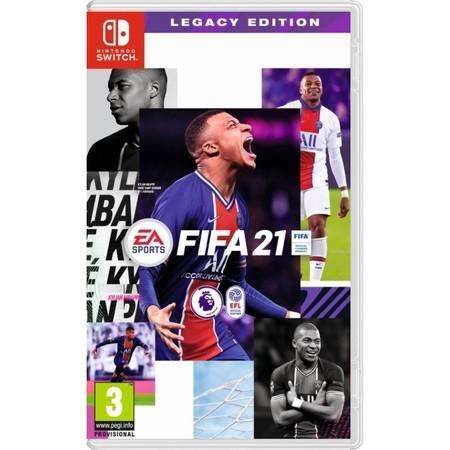 NINTENDO FIFA 21 Legacy Edition hra