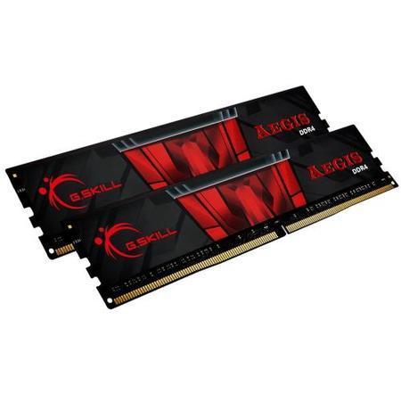 G.SKILL 16GB=2x8GB Aegis DDR4 3200MHz CL16 1.35V