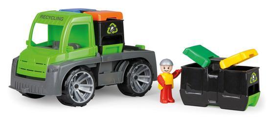 TRUXX auto s kontejnery, okrasný kartón