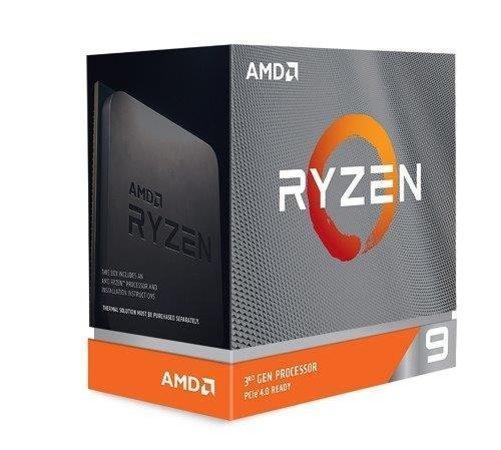 AMD Ryzen 9 12C/24T 3900XT (4.7GHz,70MB,105W,AM4) box without cooler, 100-100000277WOF