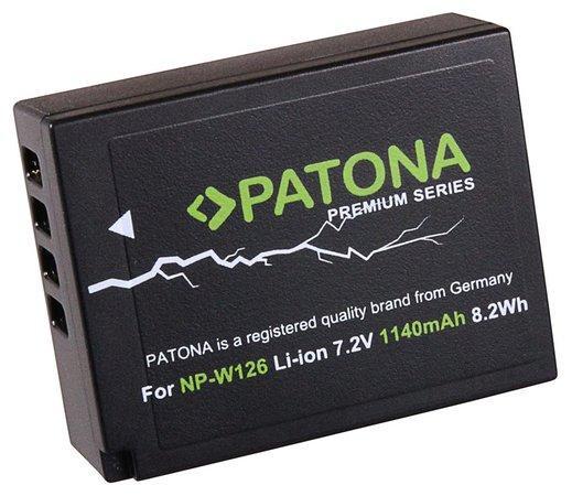 PATONA baterie pro foto Fuji NP-W126 1140mAh Li-Ion Premium